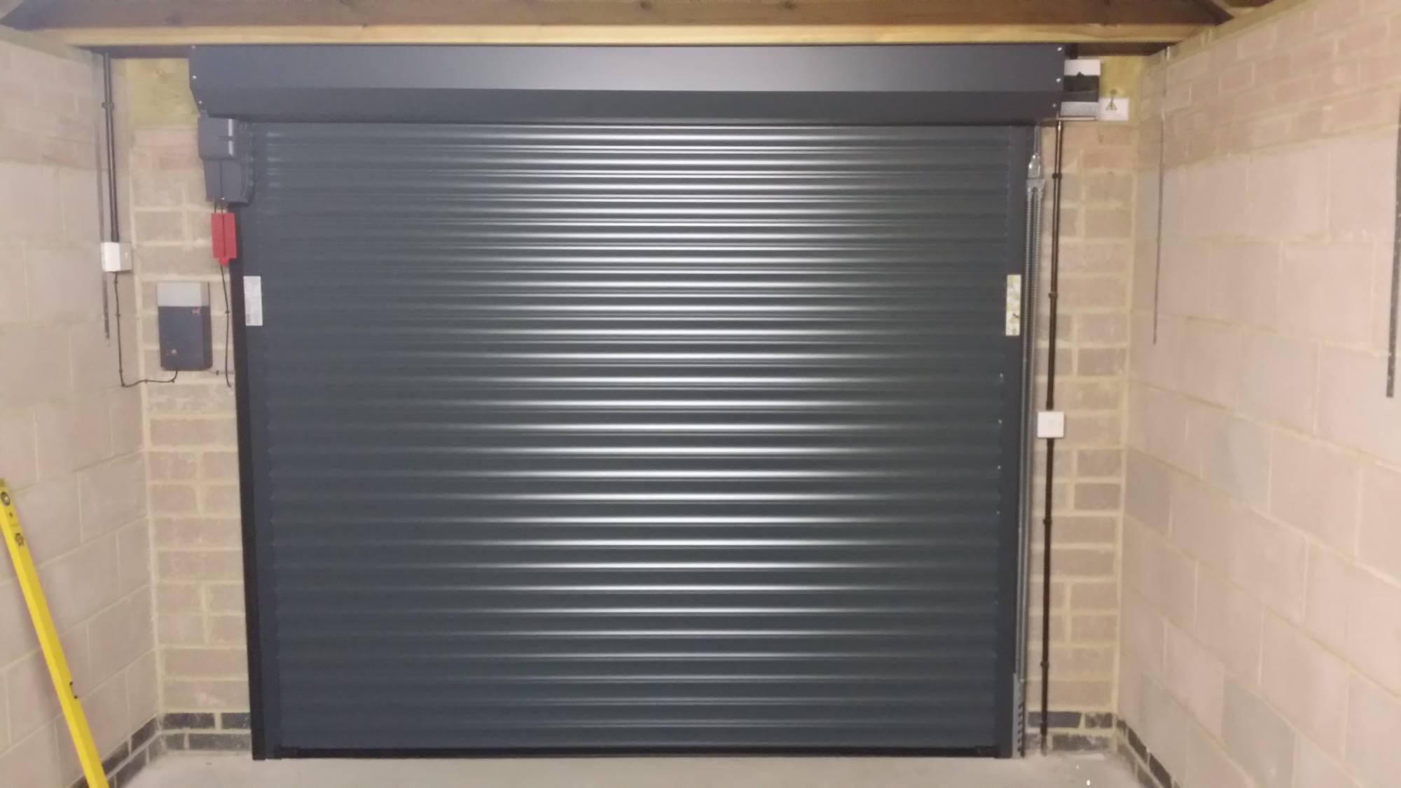 Hormann Roller Garage Doors Inside View