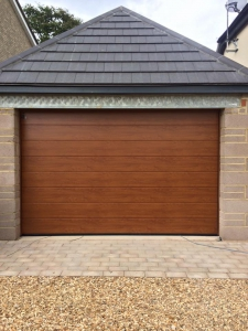 Hormann sectional garage