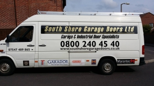 South Shore Garage Doors Ltd Van