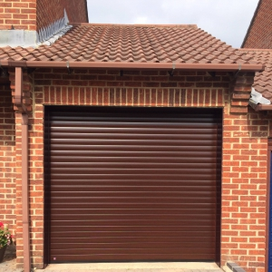 Roller Garage Doors Hormann Decopaint Rosewood