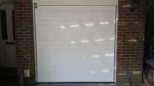 Sectional Garage Door done in Poole by South Shore Garage Doors - Garage Doors and Industrial Doors Specialists